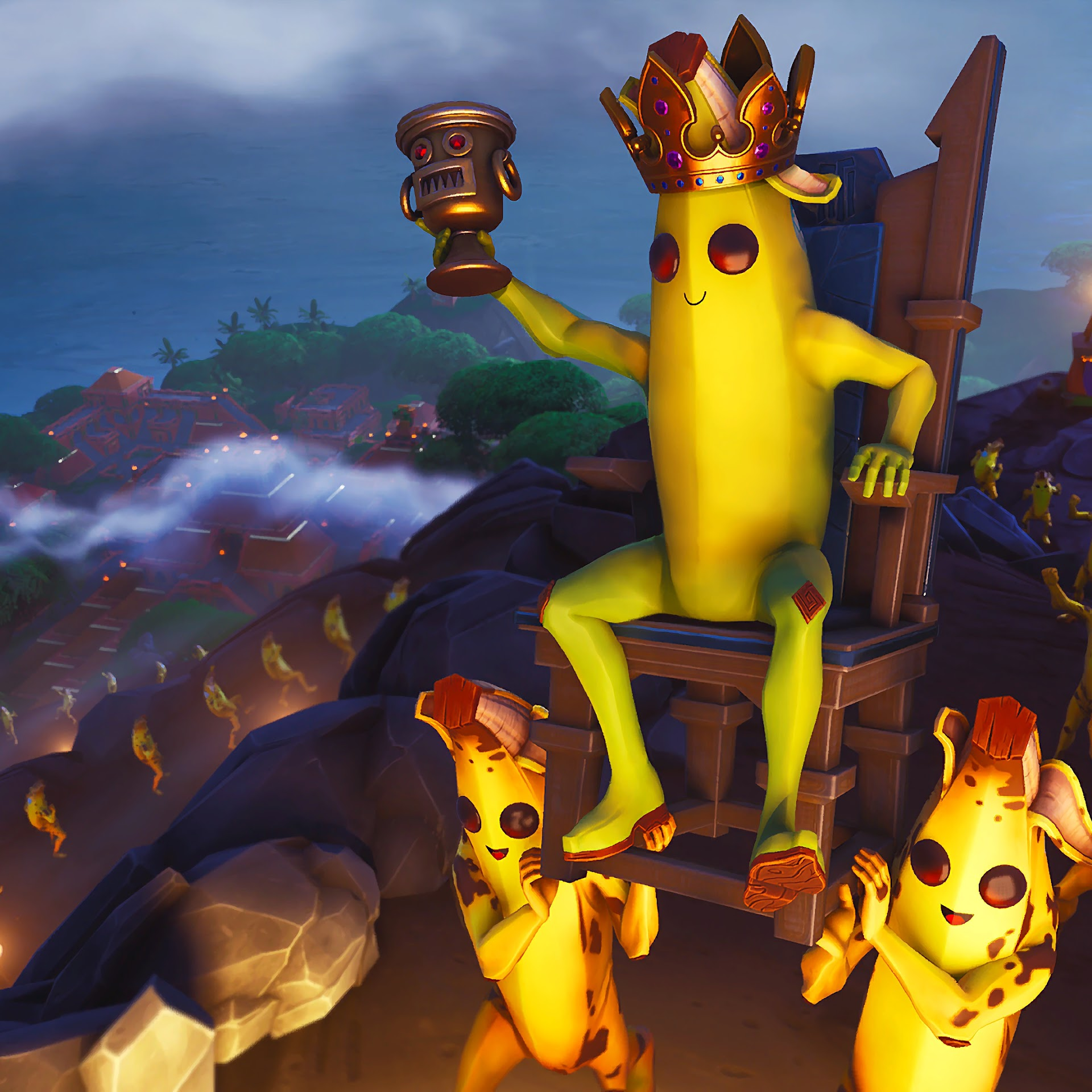 Fortnite Battle Royale, Peely The Banana King, 4K, #135