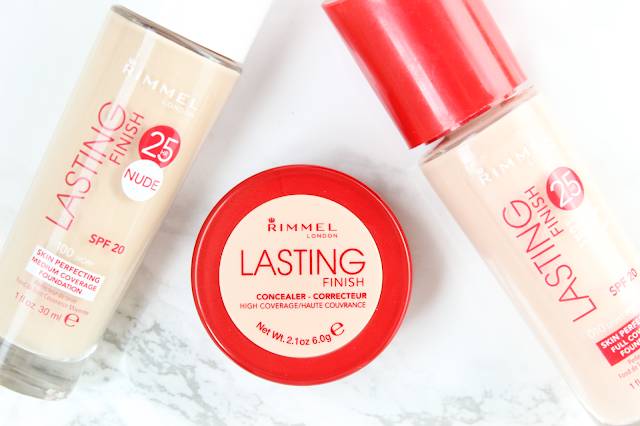 Rimmel Lasting Finish Concealer Foundation Nude Review