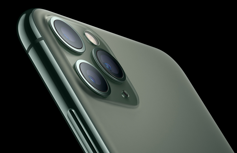 iPhone 11 Pro and iPhone 11 Pro Max have a textured matte glass back
