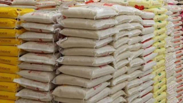 FG seizes 8,360 bags of foreign rice, other items in three weeks