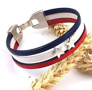 Kit complet pour réaliser ce joli bracelet en cuir
