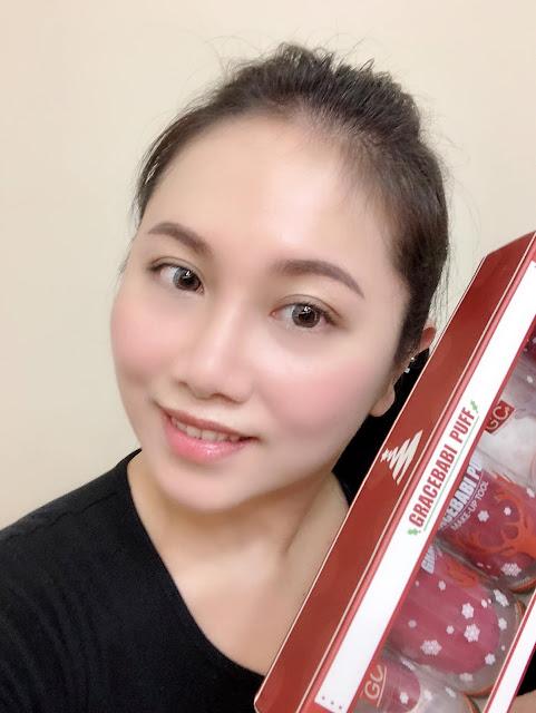 Gracebabi酒紅美妝蛋