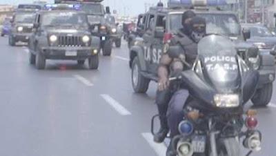 صور.. الداخلية تستنفر قواتها فى الشوارع تزامنا مع العمليات الأمنية بسيناء
