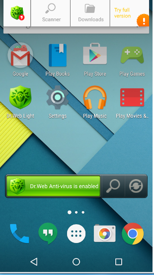 Dr Web Antivirus Light Apk App For Android Free Download ...