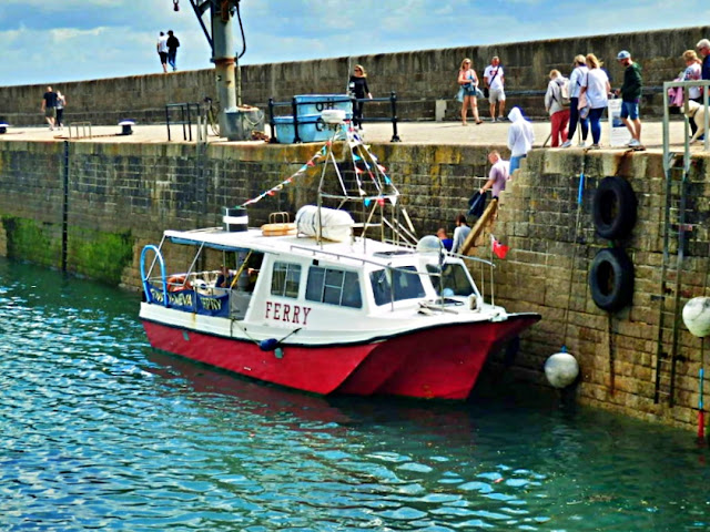 The Mevagissey Ferry to Fowey - and return - Cornwall