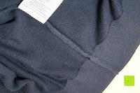 Nähte: ARMEDANGELS Herren Strickpullover aus Bio-Baumwolle - Miko - blau GOTS