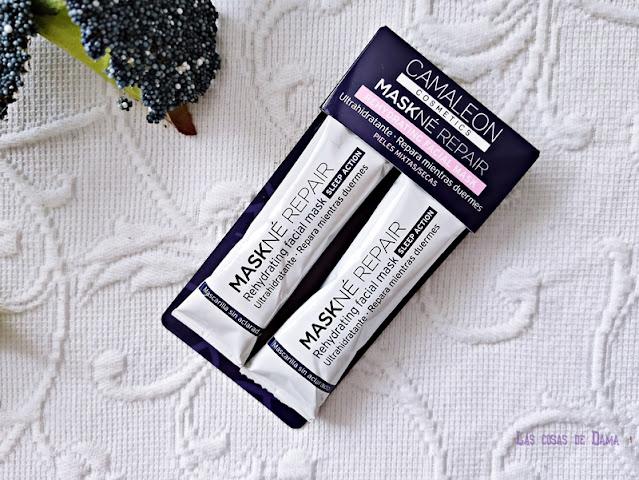 Maskné Repair Camaleon Cosmetics mascarillas mask covid pandemia beauty acné belleza farmacia skincare