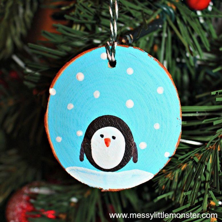 fingerprint penguin craft
