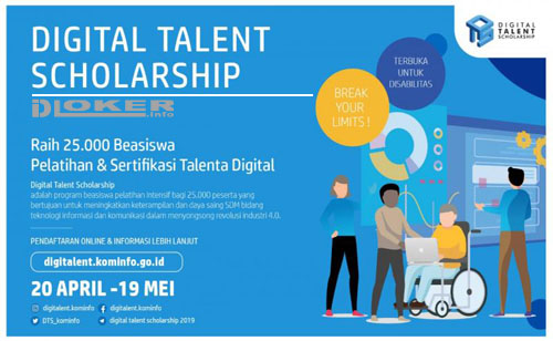 Beasiswa Digital Talent Scholarship