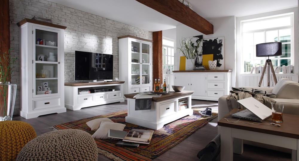 wohnzimmer mit weißen möbeln gestalten foto massivum | Wohnidee ...