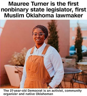 Mauree Turner is the first Muslim Oklahoma Lawmaker