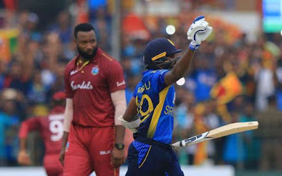 Sri Lankan team, chasing the target, could score only 171 runs in 19.1 over