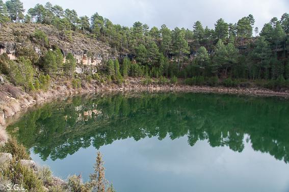 Laguna de la gitana en las lagunas de cañada del Hoyo en Cuenca