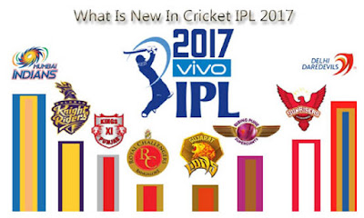 What Is New In Cricket IPL 2017