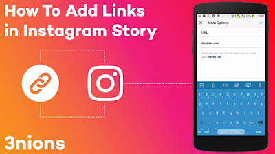 Cara Membuat Swipe Up Story Instagram Ke Link Website