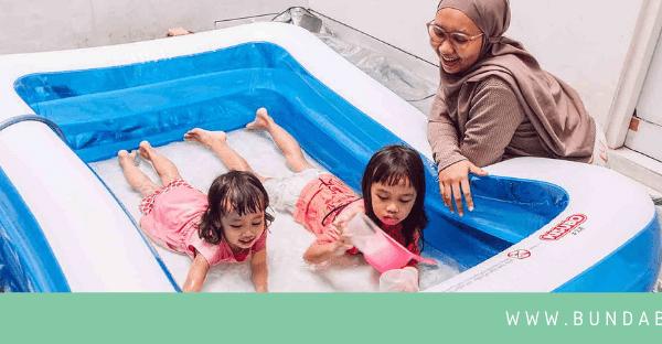 Rekomendasi Kolam Renang Anak KISUBO, Mudah Dipasang, Besar, dan Kuat