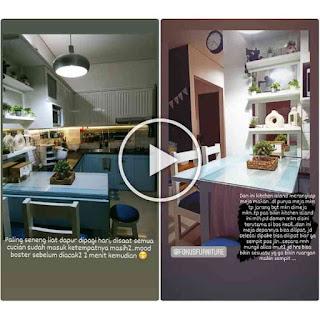 Kitchen set Duco cibubur