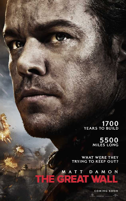 The Great Wall (2016) BRRip Dual Audio (Hin-Eng) 480p 500MB