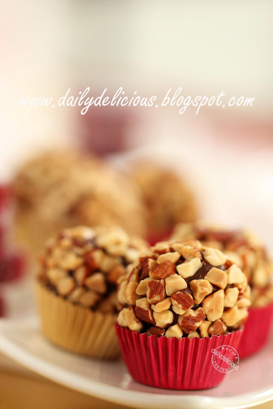 Easy Chocolate Almond Cake