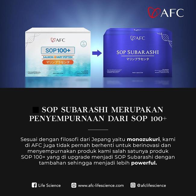 Agen Jual: AFC SOP Subarashi Japan, SOP Subarashi Gagal Ginjal, di Semarang