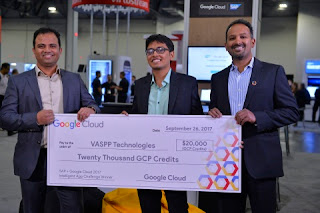 First Place Winner Chosen in the SAP + Google Cloud Intelligent App Challenge