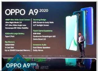 Harga dan Spesifikasi OPPO A9 2020
