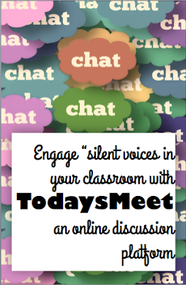 Use TodaysMeet, an online discussion platform, to engage silent voices in your classroom and increase participation in discussions.