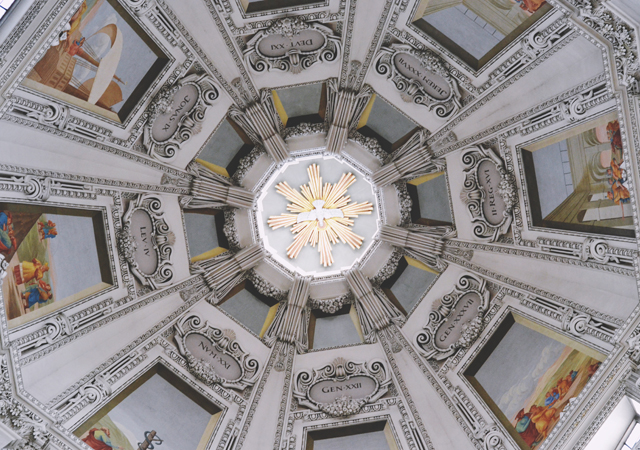 Salzburg cathedral dome architecture