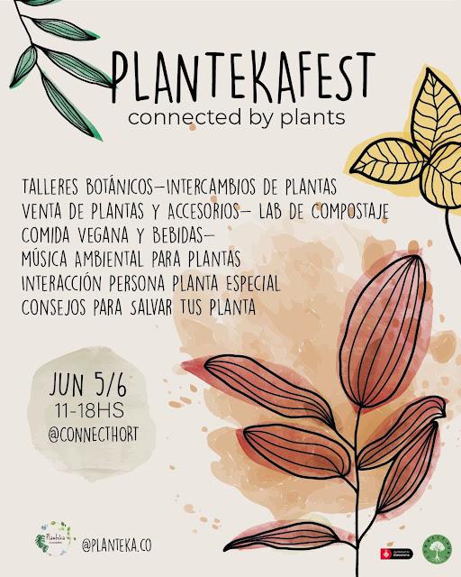 Planteka Fest en ConnectHort Barcelona