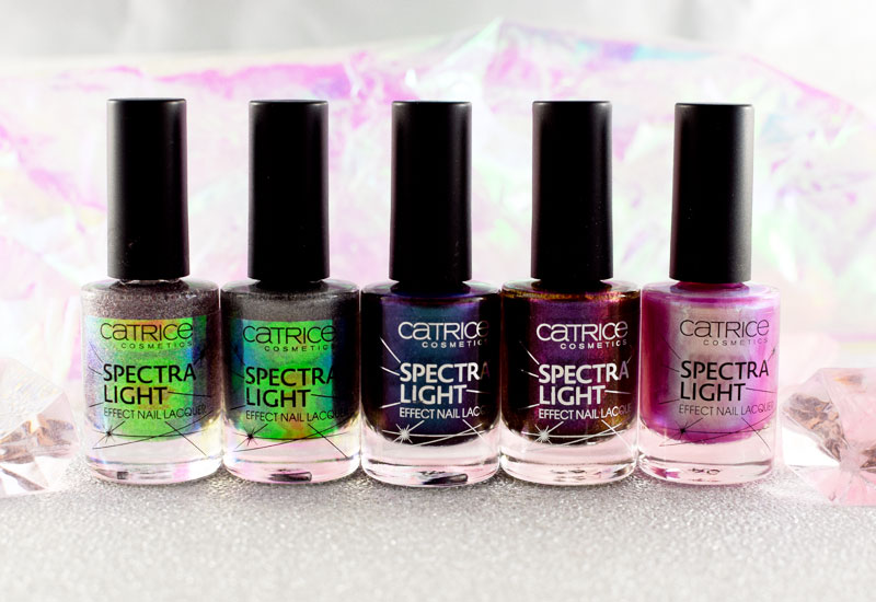 Catrice Spectra Light Effect Nail Laquer, Swatches und Review