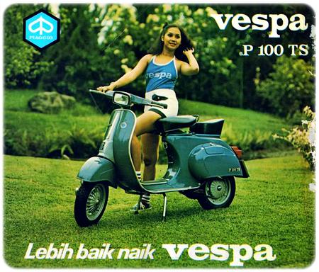 Perbedaan Spesifikasi Vespa PTS 90 dan 100 cc