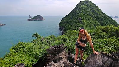 wyspa małp Cat Ba Monkey Island