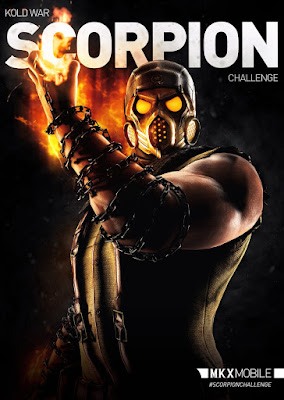 Scorpion Kold War - Mortal Kombat X mobile