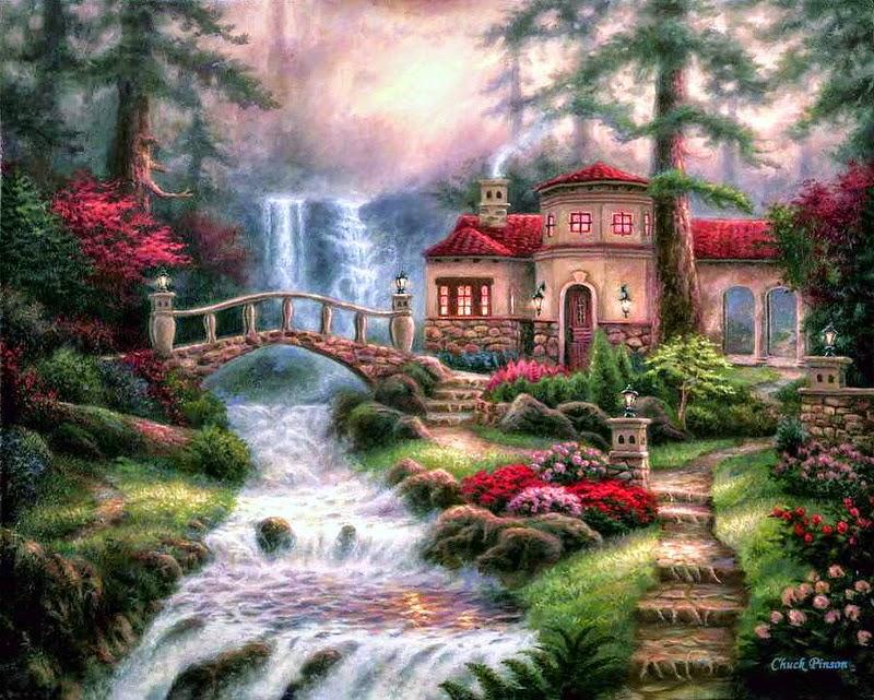 Chuck Pinson  Um pintor do realismo romântico