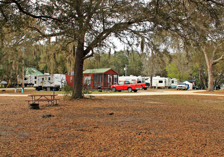 Lake In The Forest Resort   RVs And Cabins   Silver Springs/Ocklawaha, FL    Passport America Participating Park