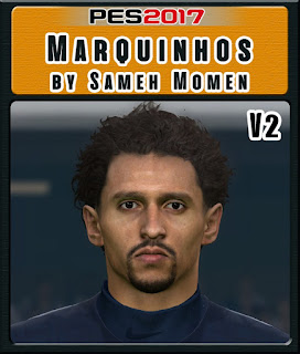 PES 2017 Faces Marquinhos by Sameh Momen