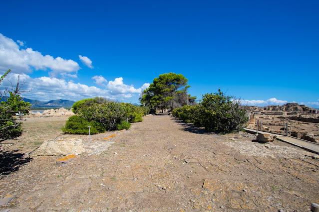 Area archeologica di Nora-Strada romana
