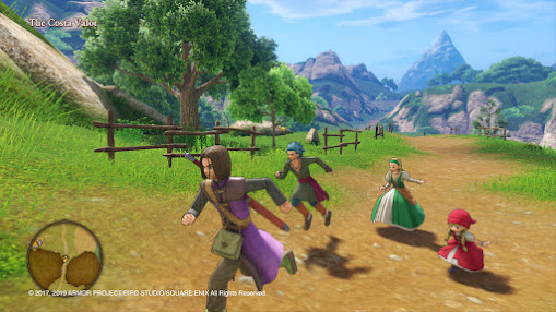 Dragon Quest XI S: gameplay