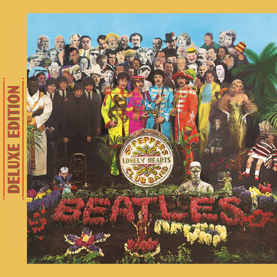 The Beatles - Sgt. Pepper's Lonely Hearts Club Band (Deluxe Edition) -  Album Download, Itunes Cover, Official Cover, Album CD Cover Art, Tracklist
