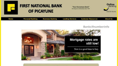 About First National Bank of Picayune