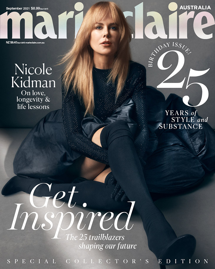 Nicole Kidman Covers Marie Claire Australia September 2021 Issue