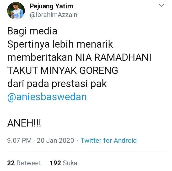 Aneh! Ini Kritik Pedas Netizen di Balik Trending Nia Ramadhani