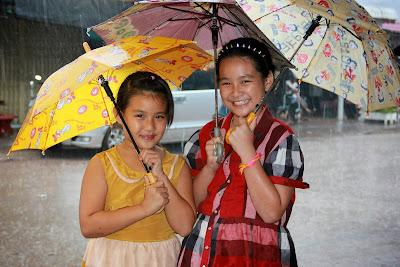 Les filles laotiennes (Savannakhet)
