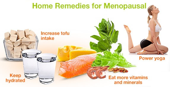 Home remedies for menopausal