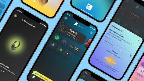 Bragi the dash pro earphones App
