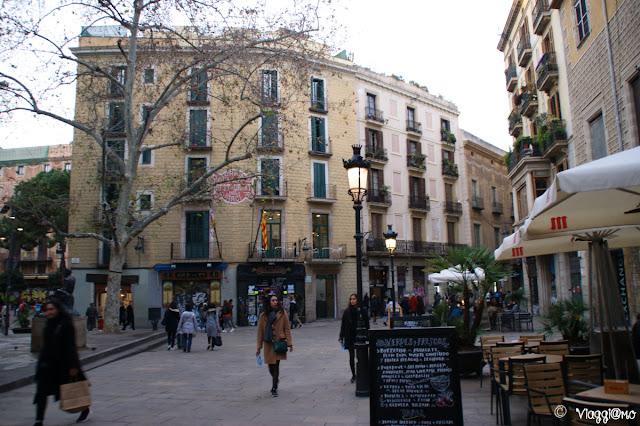 Placa de Sant Josep altra piazza nel Barrì Gotic