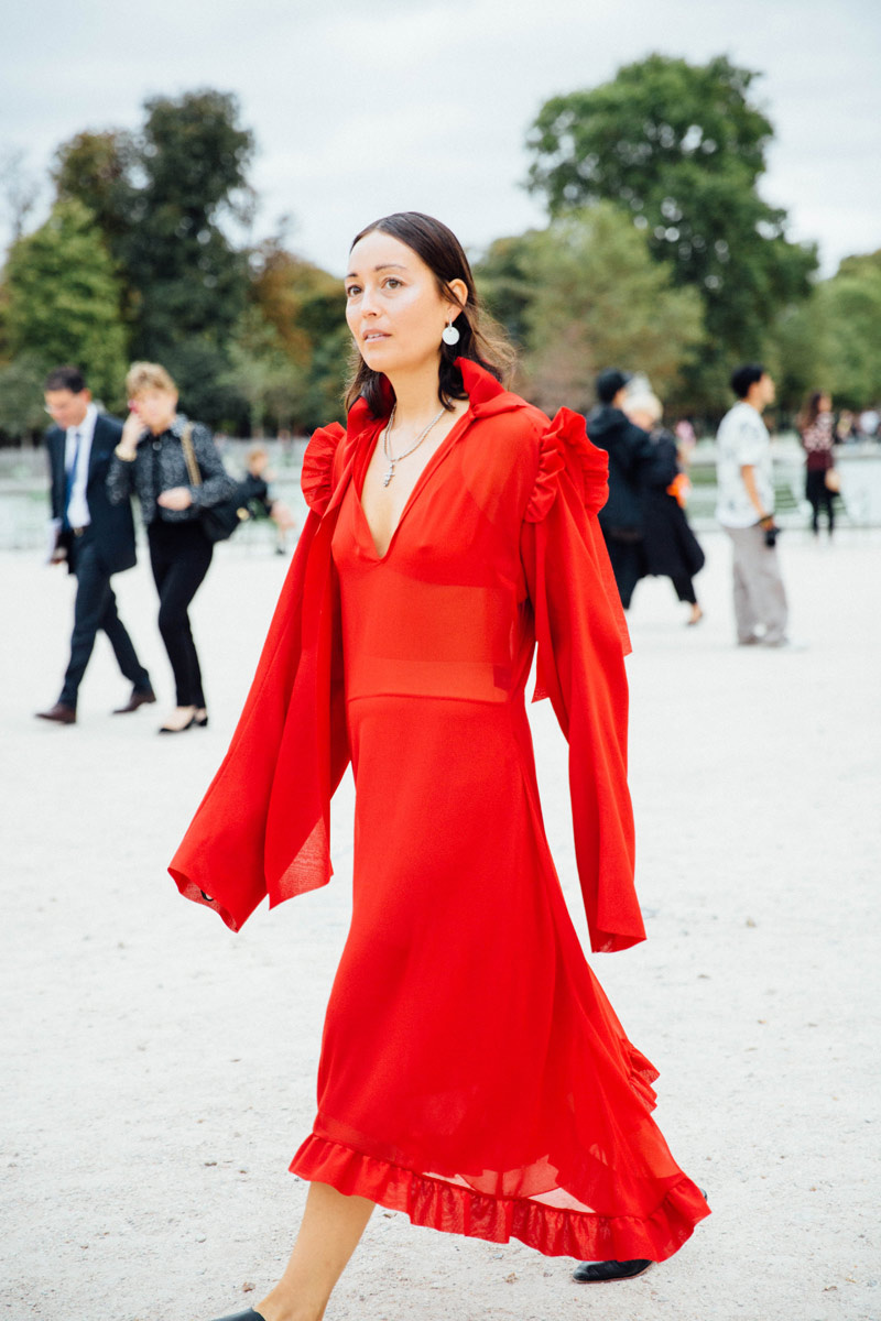 Paris Fashion Week Street Style Spring 2015: Paris Fashion Week Street Style SS17 (1)