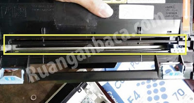 letak kawat wire fotocopy kyocera m2040dn