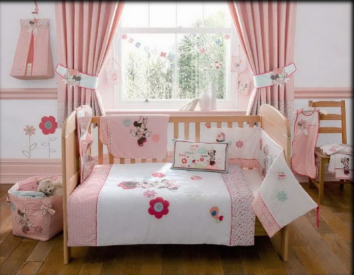 The Cheerful Minnie Mouse Bedroom D Cor Designs The Theme Featuring Your Kids Favorite Try To Make Your Kids Be Happy And Safe By Using Minnie Mouse