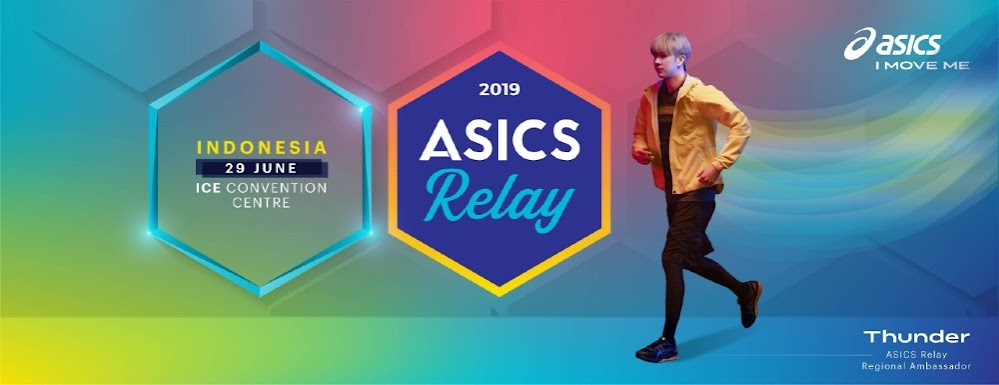 Park Sang-Hyun Asics Relay Indonesia 2019